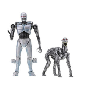 NECA - RoboCop vs The Terminator - Doppelpack EndoCop & Terminator Dog - Actionfiguren - 18 cm