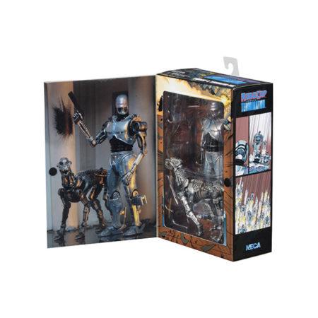 NECA - RoboCop vs The Terminator - Doppelpack EndoCop & Terminator Dog - Actionfiguren - 18 cm