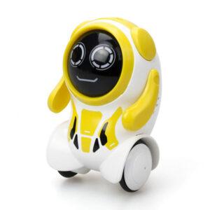 silverlit roboter pokibot round gelb