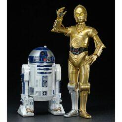 Kotobukiya: Star Wars - ARTFX+ Statue 1/10 - Doppelpack C-3PO & R2-D2 - 17 cm