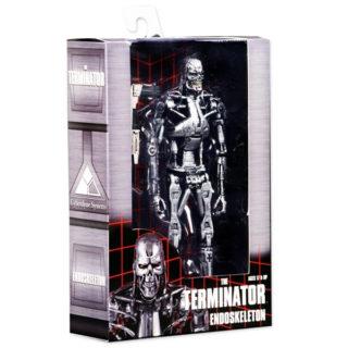 NECA: Terminator - T-800 Endoskelett - Actionfiguren - 18 cm