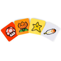 Nintendo: Super Mario Bros. - Untersetzer 4er-Pack - Power-Ups Coasters Exclusive