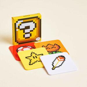 Nintendo: Super Mario Bros. - Untersetzer 4er-Pack - Power-Ups Coasters Exclusive