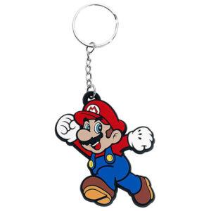 Nintendo: Super Mario Bros. - Mario - Gummi-Schlüsselanhänger
