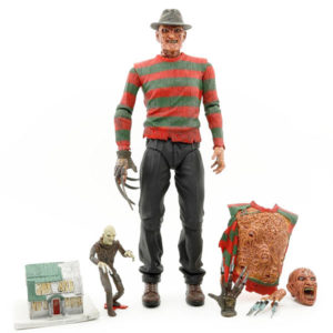 Nightmare On Elm Street 3: Ultimate Freddy Krueger - Actionfigur - 18 cm
