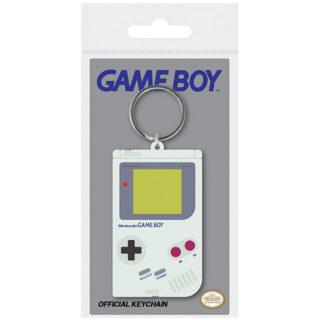 Nintendo: Game Boy - Gummi-Schlüsselanhänger