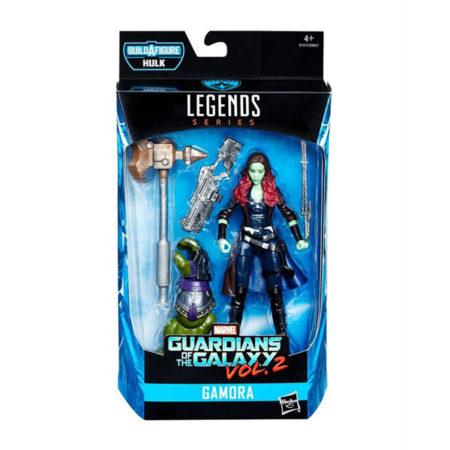 "Marvel Legends: Guardians of The Galaxy ""Hulk"" - Gamora - Actionfigur - E1371 - 15 cm"