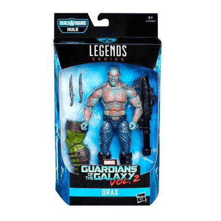 "Marvel Legends: Guardians of The Galaxy ""Hulk"" - Drax - Actionfigur - E1370 - 15 cm"