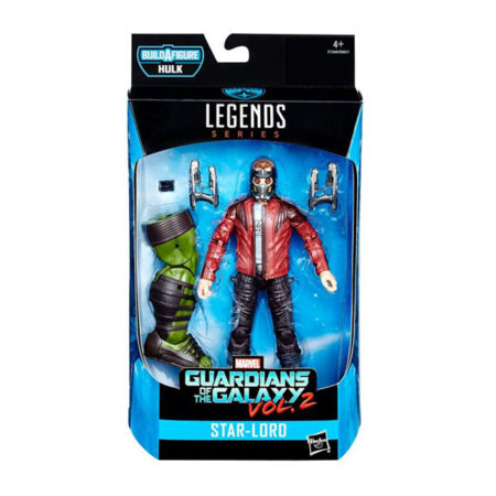 "Marvel Legends: Guardians of The Galaxy ""Hulk"" - Star-Lord - Actionfigur - E1368 - 15 cm"