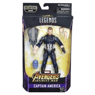 "Marvel Legends: Avengers ""Thanos"" - Captain America - Actionfigur - E1387 - 15 cm"