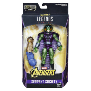 "Marvel Legends: Avengers ""Thanos"" - Serpent Societ - Actionfigur - E1390 - 15 cm"