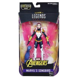 "Marvel Legends: Avengers ""Thanos"" - Songbird - Actionfigur - E1389 - 15 cm"