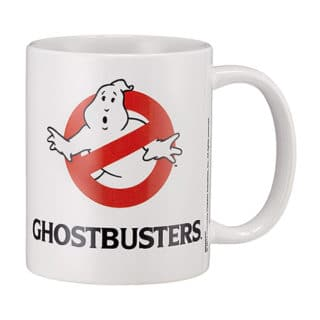 Ghostbuster: Tasse / Kaffeetasse Weiss - No Ghost
