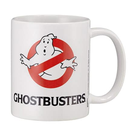 Ghostbuster: Tasse / Kaffeetasse Weiss - No Ghost