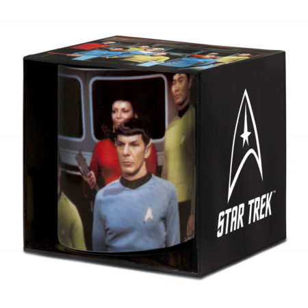 Star Trek: Tasse / Kaffeetasse Weiss - Classic USS Crew