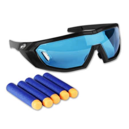Nerf: N-Strike - Elite Brille Vision Gear + 5 Darts - A5068