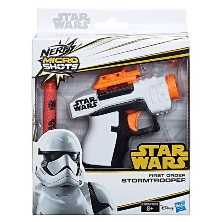 Nerf: Micro Shots - Star Wars Stormtrooper + 2 Darts - E1881