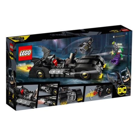 Lego: DC Comics Super Heroes - Batmobile Verfolgungsjagd mit dem Joker - 76119
