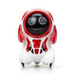 Silverlit: Roboter - Pokibot - Round - rot