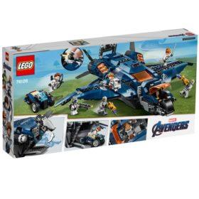 LEGO: Marvel Super Heroes - Ultimativer Avengers - Quinjet - 76126