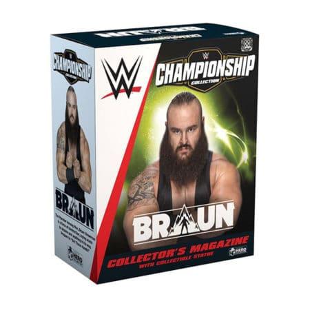 WWE: Championship Collection - Braun Strowman Statue & Magazin - 1:16
