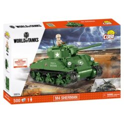 COBI: World of Tanks - M4 Sherman - 3007A