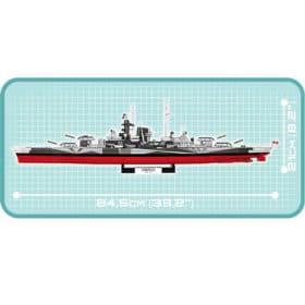 COBI: World of Warships - Battleship - 3085