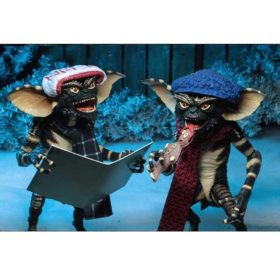 Gremlins: Actionfiguren Doppelpack - Christmas Carol Winter Scene - Set 1 - 15 cm