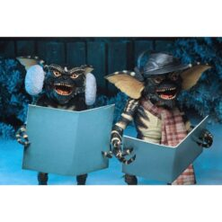 Gremlins: Actionfiguren Doppelpack - Christmas Carol Winter Scene - Set 2 - 15 cm