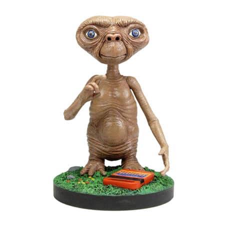 E.T. Der Ausserirdische: Head Knocker - Wackelkopf Figur - 13 cm