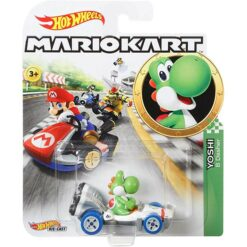 "Hot Wheels: Nintendo Mario Kart ""Yoshi"" Masstab 1:64 - Die-Cast - GBG29"