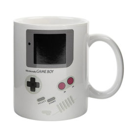Nintendo: Game Boy Tasse / Kaffeetasse mit Thermoeffekt - Super Mario Land