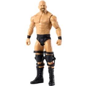 WWE: WrestleMania Actionfigur - Steve Austin - FMD46 - 18 cm