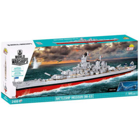 COBI: World of Warships - Battleship Missouri (BB-63) - 3084