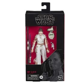 Star Wars: Black Series - Rey & D-0 - E4077 - 15 cm