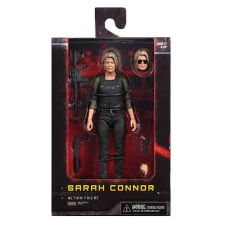 Terminator: Dark Fate - Sarah Connor - Actionfigur - 18 cm