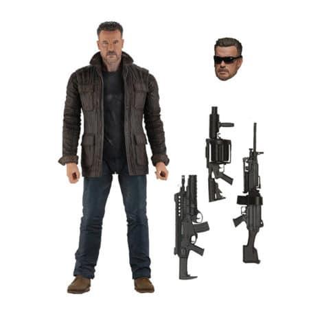Terminator: Dark Fate - T-800 (Arnold Schwarzenegger) - Actionfigur - 18 cm
