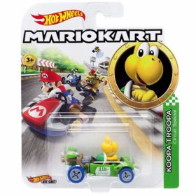 "Hot Wheels: Nintendo Mario Kart ""Koopa Troopa"" Masstab 1:64 - Die-Cast - GGV85"
