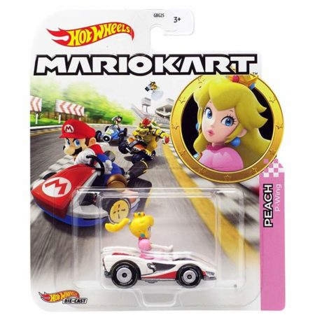 "Hot Wheels: Nintendo Mario Kart ""Peach"" Masstab 1:64 - Die-Cast - GJH58"