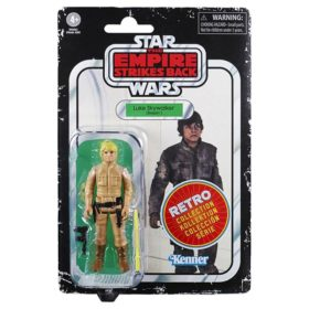 Star Wars: Episode V - Retro Collection - Kenner - Luke Skywalker - Actionfigur - E9654 - 10 cm