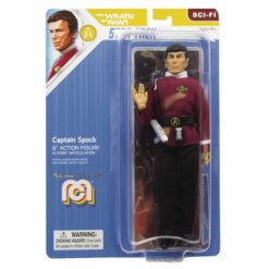 MEGO Star Trek WoK Captain Spock Actionfigur 20 cm