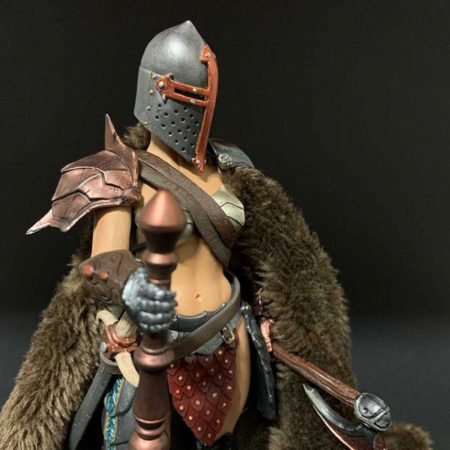 Mythic Legions: Wasteland - Cassia - Actionfigur - 15 cm