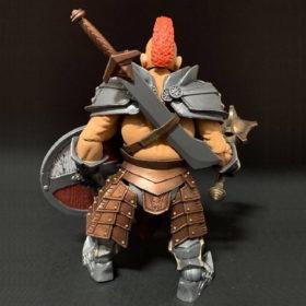FHR00003 - Mythic Legions - Wasteland - Torgun Redfin - Actionfigur - 15 cm