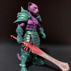 Mythic Legions: Wasteland - Purrrplor - Actionfigur - 15 cm