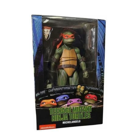 Teenage Mutant Ninja Turtles: (1990er Verfilmung) - Michelangelo - Actionfigur - 18 cm