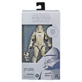 Star Wars - Black Series - Carbonized - First Order Jet Trooper - E8442 - 15 cm
