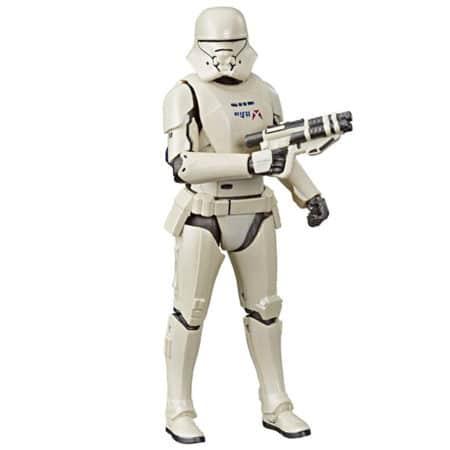 Star Wars - Black Series - Carbonized - First Order Jet Trooper - E8442 - 15 cm