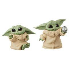 Star Wars: The Mandalorian - (Yoda) The Child - Bounty Collection Don't Leave & Ball - 2 Figuren - 5,5 cm