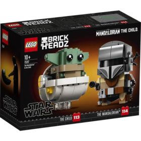 Lego: BrickHeadz - Star Wars - Der Mandalorian und das Kind - 75317