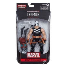 "Marvel Legends: Black Widow ""Crimson Dynamo"" - Marvels Crossbones - Actionfigur - E8772 - 15 cm"